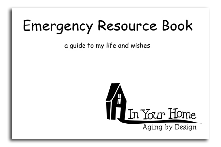 Emergency Resource Book by Michael Weigand